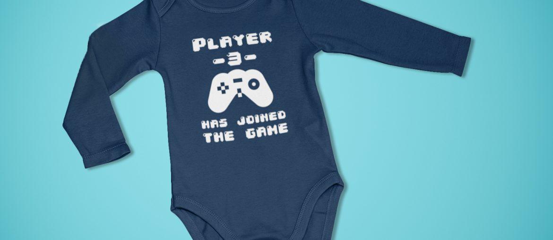 Oh, ist der süß! Print-On-Demand Baby Body Langarm zum selbst Designen
